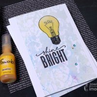 Quick & Easy Projects: Creating Backgrounds using Fireworks Sprays on a Gel Plate