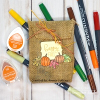 Quick & Easy Projects: How To Make A Burlap Halloween Trick or Treat Candy Bag
