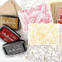 Quick & Stunning Holiday Cards in a Flash Made with Delicata Metallic Ink