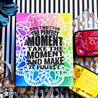 Create a Beautiful Rainbow Ink Blended Card