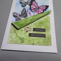 Learn How to Make a Butterflies of Spring Card with Ink Blending