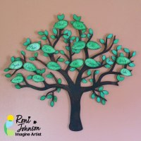 Learn How to Make a Wooden Wall Art Family Tree