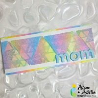 Learn How to Make a Kaleidacolor Mother's Day Card
