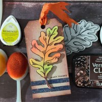 How to Make a Simple Fall Tag