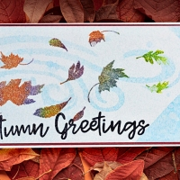 Make an Autumn Blessings Card with Imagine Crafts
