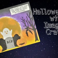 Halloween Fun with Memento Inks and Imagine Crafts